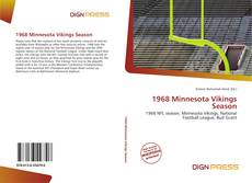 Buchcover von 1968 Minnesota Vikings Season