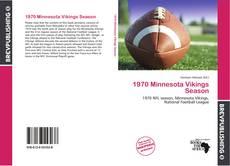 Buchcover von 1970 Minnesota Vikings Season