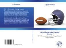Buchcover von 1971 Minnesota Vikings Season