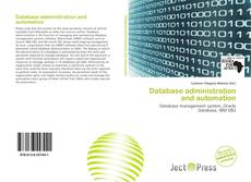 Bookcover of Database administration and automation