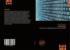 Buchcover von Adaptxt