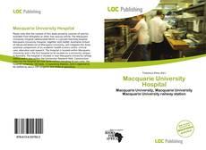Bookcover of Macquarie University Hospital