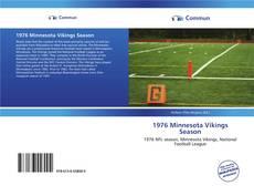 Buchcover von 1976 Minnesota Vikings Season
