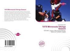 Buchcover von 1978 Minnesota Vikings Season