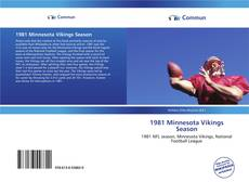 Bookcover of 1981 Minnesota Vikings Season