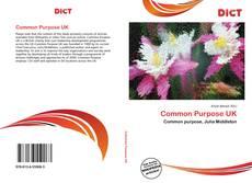 Bookcover of Common Purpose UK