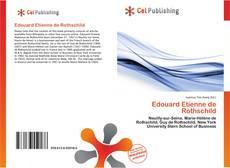 Capa do livro de Edouard Etienne de Rothschild