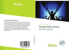 Capa do livro de Foreign Policy Centre