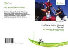 Buchcover von 1983 Minnesota Vikings Season