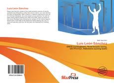 Bookcover of Luis León Sánchez
