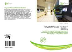 Bookcover of Crystal Palace Railway Station