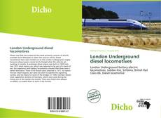 Bookcover of London Underground diesel locomotives