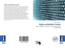 Portada del libro de High-availability cluster