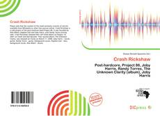 Bookcover of Crash Rickshaw