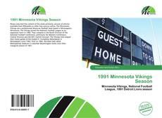 Buchcover von 1991 Minnesota Vikings Season