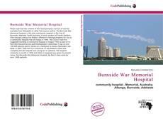 Buchcover von Burnside War Memorial Hospital
