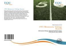 Buchcover von 1993 Minnesota Vikings Season