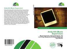 Portada del libro de Andy Hill (Music Supervisor)
