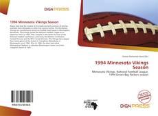 Buchcover von 1994 Minnesota Vikings Season