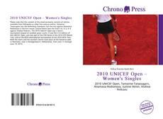 Обложка 2010 UNICEF Open – Women's Singles