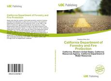 Bookcover of California Department of Forestry and Fire Protection
