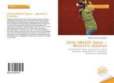 Обложка 2010 UNICEF Open – Women's Doubles