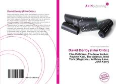 Bookcover of David Denby (Film Critic)