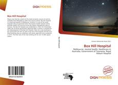 Bookcover of Box Hill Hospital