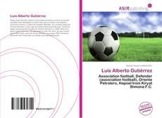 Capa do livro de Luis Alberto Gutiérrez