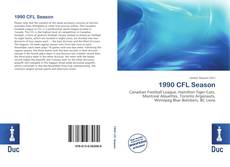 Обложка 1990 CFL Season