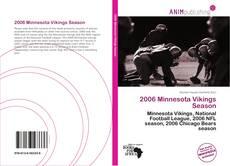 Buchcover von 2006 Minnesota Vikings Season