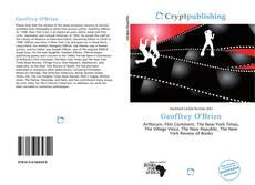 Bookcover of Geoffrey O'Brien