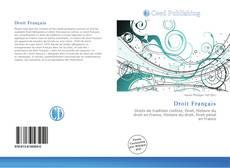 Droit Français kitap kapağı