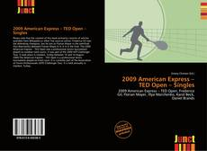 Capa do livro de 2009 American Express – TED Open – Singles