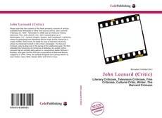 Buchcover von John Leonard (Critic)