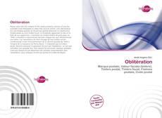 Bookcover of Oblitération