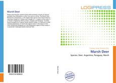 Bookcover of Marsh Deer