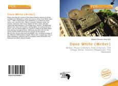 Capa do livro de Dave White (Writer)