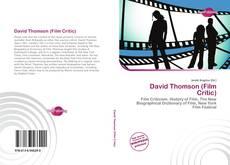 Buchcover von David Thomson (Film Critic)