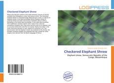 Bookcover of Checkered Elephant Shrew