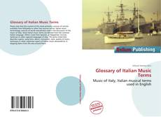 Buchcover von Glossary of Italian Music Terms