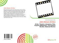 Buchcover von John Simon (Critic)