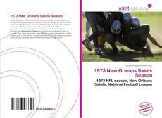 1973 New Orleans Saints Season kitap kapağı