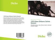 Bookcover of 1974 New Orleans Saints Season