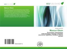 Bookcover of Mancur Olson