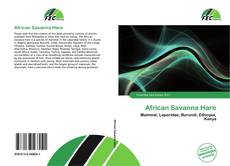 Bookcover of African Savanna Hare