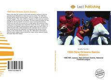 1980 New Orleans Saints Season kitap kapağı