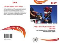 1983 New Orleans Saints Season kitap kapağı