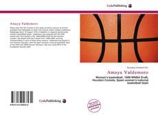 Portada del libro de Amaya Valdemoro