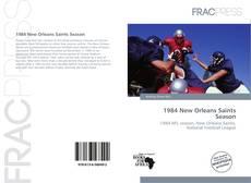 1984 New Orleans Saints Season kitap kapağı